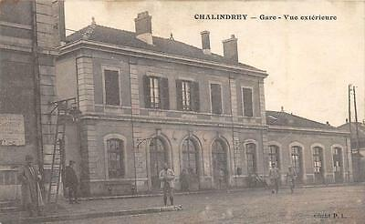Cpa 52 Chalindrey Gare Vue Exterieure