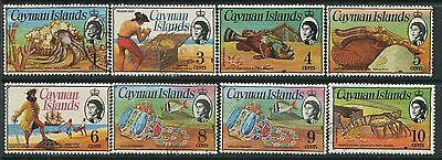 Cayman Islands 1974 definitives to 10 cents mint o.g. hinged