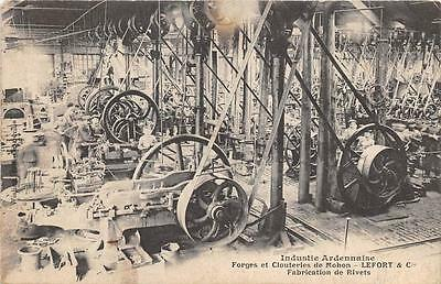 Cpa 08 Industrie Ardennaise Forges Et Clouteries De Mohon Lefort Fabrication De