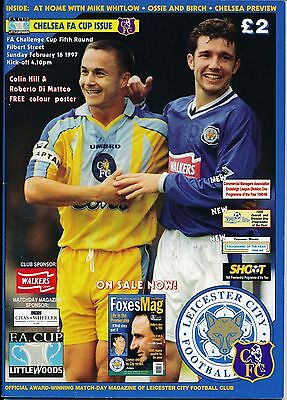 LEICESTER v Chelsea (FA Cup) 1996/7 - CFC Cup Winners!