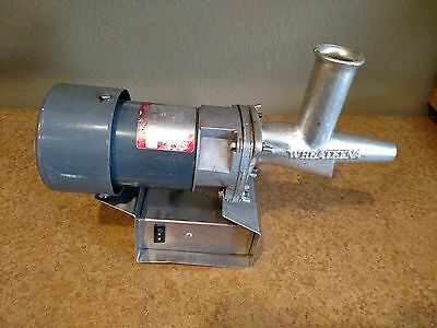 WHEATEENA MARVEL SUNDANCE II 2 Commercial Wheatgrass Juicer Extractor RED LABEL