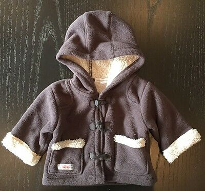 Pumpkin Patch Baby Coat Jacket Size 3-6 Months 00 Brown