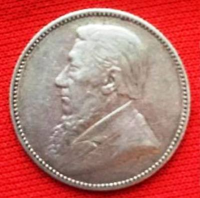 SOUTH AFRICA - 1894 Shilling (366K) (Nice Condition)