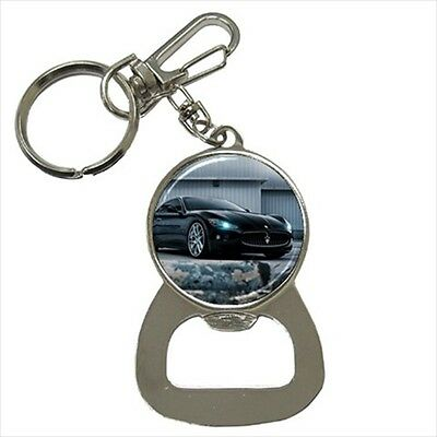 Maserati Gran Turismo Key Chain w/ Bottle Opener
