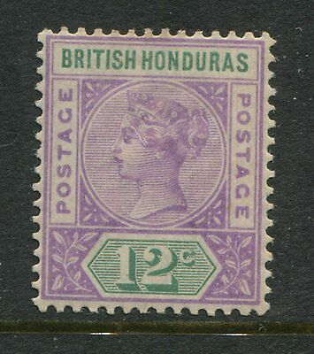 British Honduras 1891 12 cents pale mauve & green mint o.g. hinged