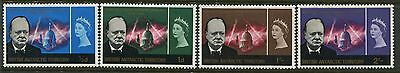 British Antarctic Territory QEII 1965 Churchill set of 4 mint o.g.