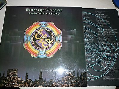ELO - A New World Record - Original Vinyl Album and Picture Sleeve