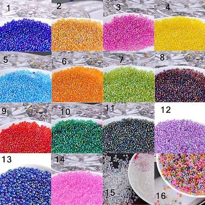 Free Shipping 2000pcs 2mm Round Czech Glass Seed Spacer Beads Jewelry Making