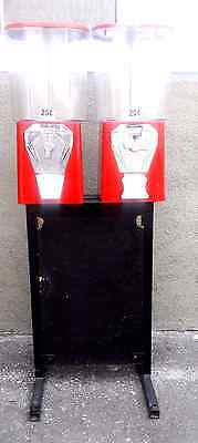 candy machines for sale lot of 2 with stand