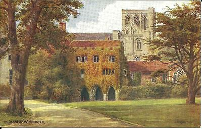THE DEANERY, WINCHESTER, HANTS - ARTIST SIGNED BY A. R. QUINTON c1939