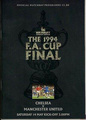 FA CUP FINAL PROGRAMME 1994: Man Utd v Chelsea