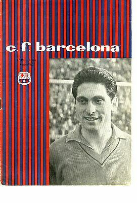 FAIRS CUP FINAL 1960: Barcelona v Birmingham City