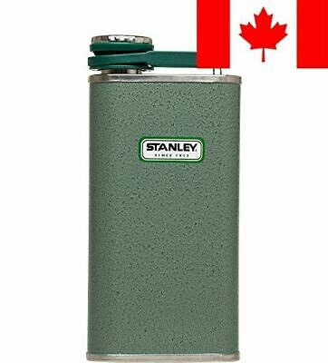Stanley 8-Ounce Classic Flask (Hammertone Green)