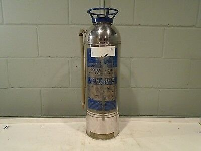 American LaFrance Fire Extinguisher Soda Acid Vintage 1960s Fire Truck/Engine