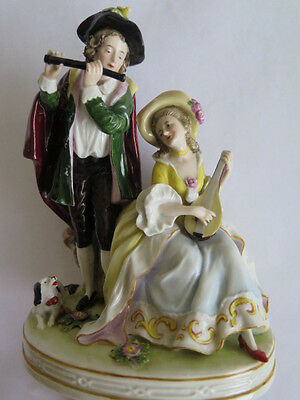 Antique Schiebe Alsbach (Germany) Hand Painted Porcelain Figure