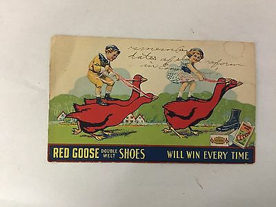 Red Goose Shoes Post Card