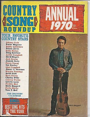Country song Roundup Annual 1970