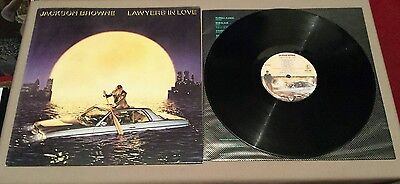 JACKSON BROWNE Lawyers In Love **1983 w/Insert 1st Alsdorf Press** - EXCELLENT