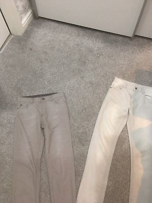 2 Pairs Of Grey Boys Jeans Age 10-11 - From Next