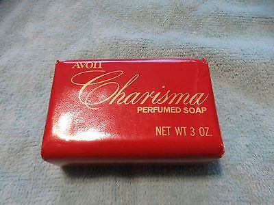 Vintage 80s Avon Perfumed Bar Soap Charisma Original Wrap 3 oz New Old Stock