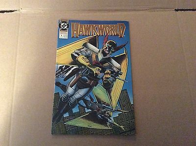 Hawkworld #1 DC comics June 1990  VF/NM Hawkman