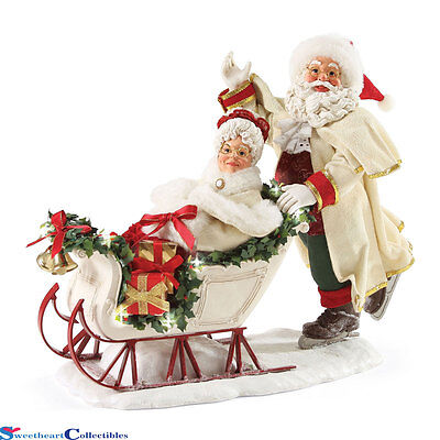 Possible Dreams Santa 4046530 Wonderland of Snow Retired Lighted