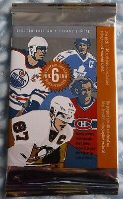 Canada 2016 Package Of 6 Nhl Great Canadian Forwards Stamps - Crosby - Sittler