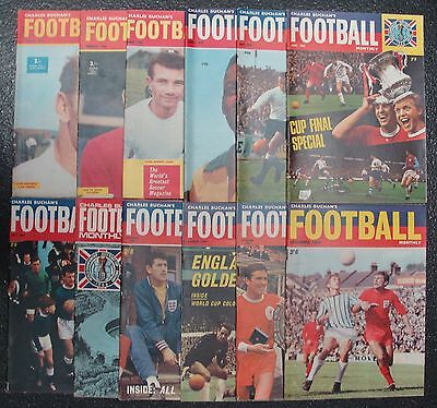 CHARLES BUCHAN'S Football Monthly 1966 Set of 12 issues
