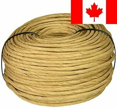 Commonwealth Basket Fibre Rush 6/32-Inch 2-Pound Coil, Kraft (approximately 2...