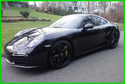 2016 Porsche 911 Turbo S 2016 Turbo S Used Certified Turbo 3.8L H6 24V Automatic AWD Coupe Premium Bose