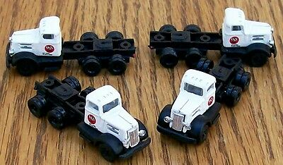 N Classic Metal Works Mini Metals~ 4~ USS STEEL 10 Wheel Tractors-VERY NICE!