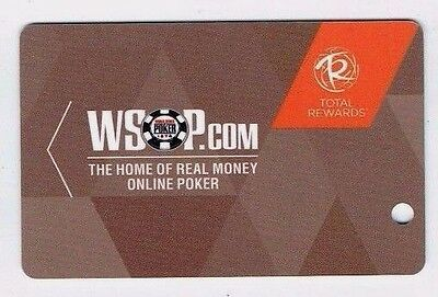 WSOP World Series of Poker BLANK Casino SLOT CARD Players Club ~ FREE SHIPPING ~