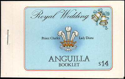 Anguilla #444c//446c MNH VF complete booklet
