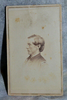 CDV Officer from IL. 9th. Infantry Captain Civil War Period!