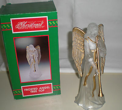 House of Lloyd Christmas Around the World  Angel tree top