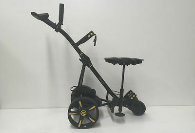 Condor Golf Trx Motorised Buggy Trolley.200W Motor. Lithium Battery.black/yellow