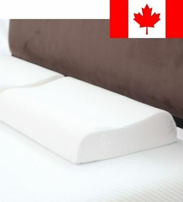 Remedy Contour Memory Foam Pillow with Cover, Large