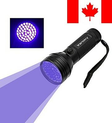 Vansky® 51 LEDs Blacklight Flashlight Pets Ultra Violet Urine and Stain Dete...