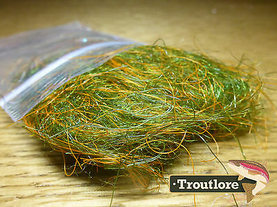 Gt Olive Kracken Ftd Dubbing - New Fly Tying Dub Material