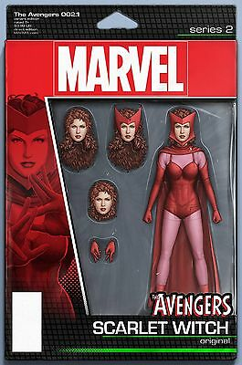 Avengers 2.1 Christopher Scarlet Witch Action Figure Variant