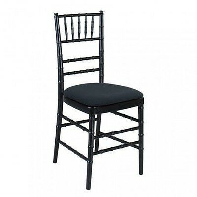 Black Tiffany Chairs - Chiavari Chairs for Weddings Events, indoor/outdoor
