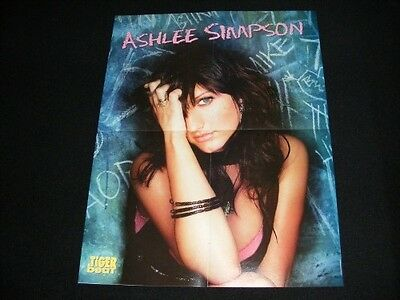 ASHLEE SIMPSON  magazine clippings lot No3 with POSTER