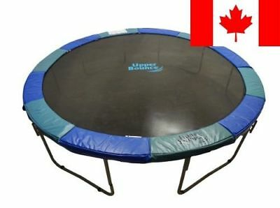 Upper Bounce 12-Feet Super Trampoline Safety Pad, Spring Cover Fits for 12-Fe...
