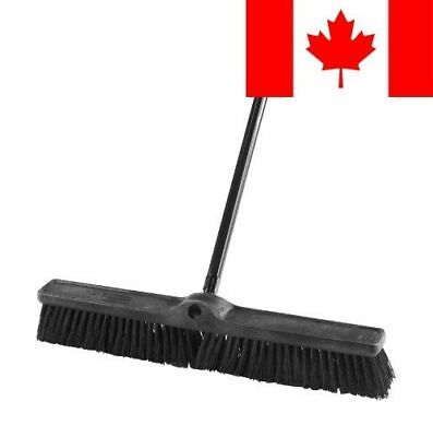Rubbermaid Commercial Executive Series 24-Inch Push Broom, Rough Surface Heav...