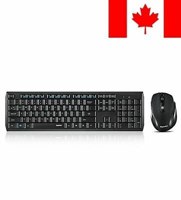 EagleTec K104 / KS04 2.4 GHz Wireless Combo Keyboard And Mouse