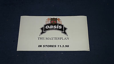 Oasis - The Masterplan - 2-sided USA Promo Poster