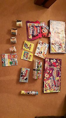 DC Thompson Beano and Dandy promotional and packaging job lot