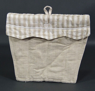 Clos D'Aguzon French Provence Home Linen Cotton Hand Towel Hot Warm Pad~Handmade