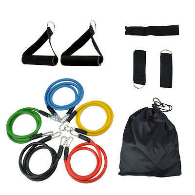 Fitness Resistance Bands Exercise Tubes Elastic Training Rope Yoga Pull Rope HCX