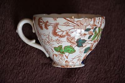 Collectable Royal Cauldon TEACUP. Made in ENGLAND Floral Design #2500
